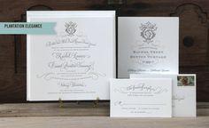 Scriptura - Letterpress Wedding Invitations