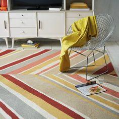 tapetes-diferentes-estampa-listras-vermelho-rosa-amarelo