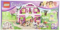 Amazon.com: LEGO Friends 41039 Sunshine Ranch (Discontinued by manufacturer): Toys & Games