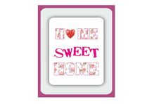 Printable Wall Art Home Sweet Home by BurlapDesignByGamze on Etsy