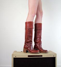 Black Label Frye Campus Boots