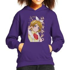 Hanayo Koizumi Kayo Love Live School Idol Project Kid's Hooded Sweatshirt