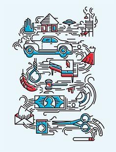 OVER THE LINE! - Timo Meyer - Illustration