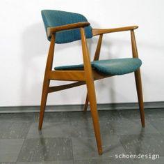 CASALA ARMLEHNENSTUHL SCHREIBTISCHSTUHL STUHL DANISH DESIGN 50ER BUCHE/ESCHE #2 | eBay