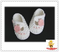 Handmade Crochet Baby Shoes Crocheting Baby Sandals Woven Boots. $5.99, via Etsy.