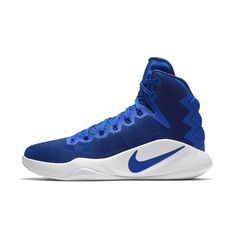 best website 546cc 7c8ef Nike Hyperdunk 2016 (Team) Men s Basketball Shoe Size 10.5 (Blue) -  Clearance Sale