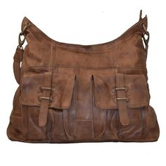 8be69d27ee87 By Burin  Sade Leather Bag Brown
