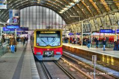 https://flic.kr/p/edjp8p | Berlin Alexanderplatz Train Station | Berlin Alexanderplatz is a railway station in the Mitte district of Berlin's city centre. It is one of the busiest transportation hubs in the Berlin area. The station is named for the Alexanderplatz square on which it is located, immediately beneath the Fernsehturm and the World clock.  More Photos At: www.glynlowephotoworks.com/Germany/Berlin/Berlin-Alexanderplatz-Station/