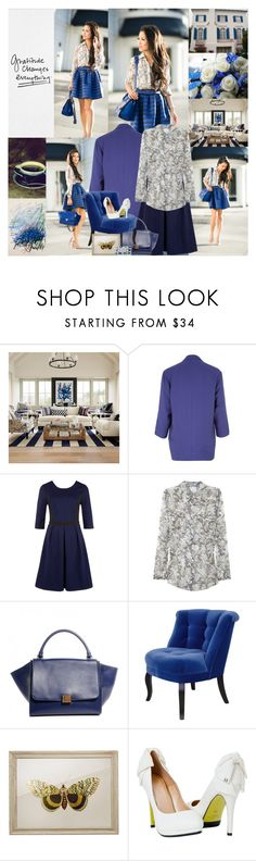 """Gratitude changes everything."" by leannesugarplum ❤ liked on Polyvore featuring Williams-Sonoma, Vero Moda, Poem, Equipment, The Velvet Chair Company and WALL"