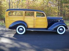 1937 Packard 115c Station Wagon