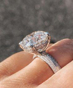 Admiring this beautiful ring