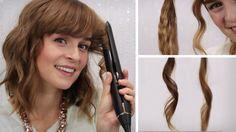 Hairbst Haare - Locken mit Glätteisen - 4 Stylings & mein Alltagslook