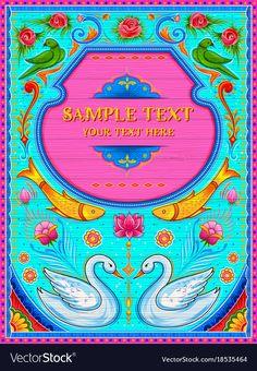 Kitsch Art, Welcome Banner, Truck Art, 3d Background, Interior Design Inspiration, Royalty Free Photos, Art Nouveau, Vector Free, Web Design