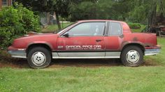 1985 Indy 500 Pace Car: 1985 Oldsmobile Calais 500 - http://barnfinds.com/indy-pace-car-1985-oldsmobile-calais/