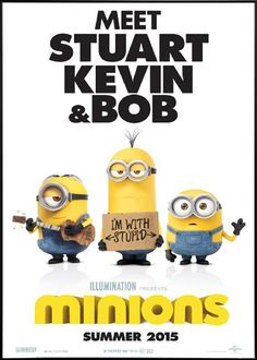 Minions (2015) Double-sided