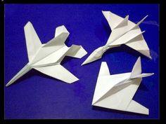Cómo hacer una avión de papel Origami, avion de papel planeador que vuela