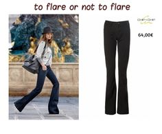 TO FLARE...for a stylish vintage look!