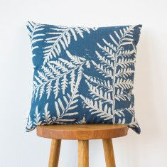 Bracken & Hakea cushion cover