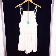 In need of the perfect country concert romper, white is one of our favs! #shopfedora