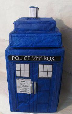 TARDIS Pinata on Etsy, $35.00