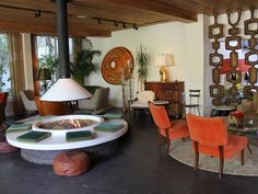 Palm Springs fire pit!