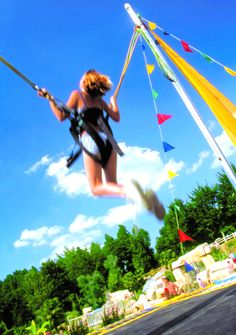 Camping***** Le Domaine des Ormes - Epiniac #Camping #Bretagne #Dol #Fun #Trampoline