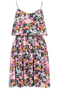 fd2fb85f468a Garden Print Crop Overlay Sundress. Bridesmaid Dresses SingaporeButton DressCutout  DressDress Clothes ...