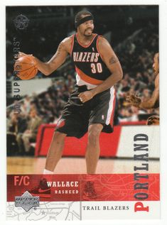 Rasheed Wallace # 198 - 2002-03 Upper Deck Superstars Multi Sports Card - NBA Basketball