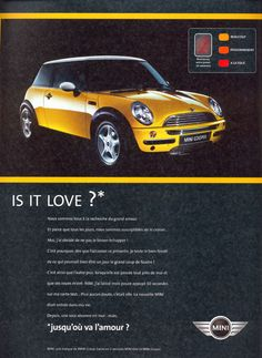 Mini - Is it love ?