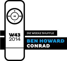 Ben Howard - Conrad 'diz weekz shuffle' © 2014 dizizsander. #music