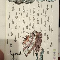 """42 Likes, 4 Comments - Diana (@blue.eyed.bliss) on Instagram: """"Tracking moods again for April.. I like seeing how my mood changes through the month. #moodtracker…"""""""