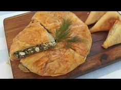 Pastry And Bakery, Spanakopita, Feta, Pie, Ethnic Recipes, Youtube, Cakes, Videos, Sweets