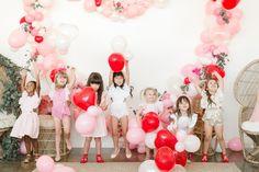 Little girls Valentine's party | Wedding & Party Ideas | 100 Layer Cake