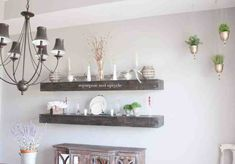 DIY Hanging Planter Project with Dollar Tree Supplies #farmhousestyle #bohostyle #modernfarmhouse #openshelving #diningroom