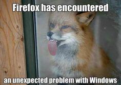 Firefox Has Encountered