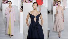 Jil Sander Fall 2012: Raf Simons Says Farewell With Pastels and Tears - Fashionista