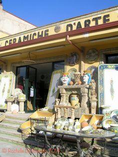 Ceramic factory, Santo Stefano di Camastra