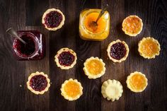 Traditional jam tarts are simple, cheap and so much fun to make with children. A great way to use up any leftover shortcrust pastry. Pastry Recipes, Tart Recipes, Baking Recipes, Dessert Recipes, Baking Snacks, Kids Baking, Kitchen Recipes, Jam Tarts, Shortcrust Pastry Tarts