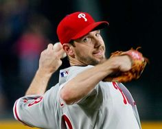 Phillies starting pitcher Cliff Lee