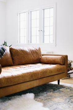 Die 9 besten Bilder von Sofa Leder Braun | Lounge suites, Couches ...