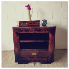 An awesome Burmese Teak TV stand with solid brass embellishment and a modern design - WOW! in the Cabinets category was sold for on 23 Sep at by Lifespace Homeware in Gauteng Burmese, Solid Brass, Teak, Embellishments, Modern Design, Awesome, Stuff To Buy, Furniture, Home Decor