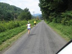 """September 7-8 will be the Blue Ridge Relay a 208 mile relay race. Our team name?  """"I've got the Runs"""""""