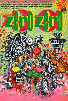 Zero Zero 1 by Various (Fantagraphics Books)