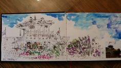 Urban sketching  Hwasung  Suwon