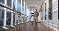 Senior travel deals: Take a cruise | Photo credit: Cunard Line