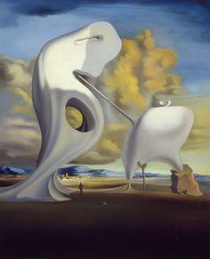 "Salvador Dalí, ""Ángelus arquitectónico de Millet"", 1933"