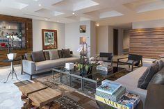 Salas de estar modernas por Hansi Arquitectura