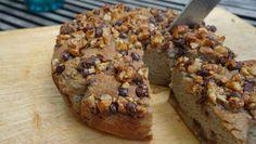 Die Streusel für diesen Streuselkuchen sind in Honig und Zimt gewälzte Walnüsse. Die Hauptzutat: Bananen. ✓Glutenfrei ✓Zuckerfrei ✓Laktosefrei - eben Paleo.