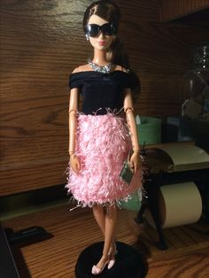 The new dress I got from Walmart just 5.00 and I'd modeled by the party perfect doll