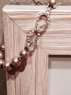 Infinity bracelet champagne pearl with bronze or topaz bead on Etsy, $7.59